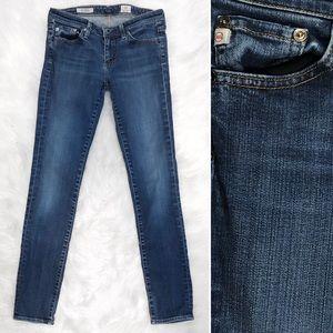 AG Stevie Slim Straight Jeans EUC